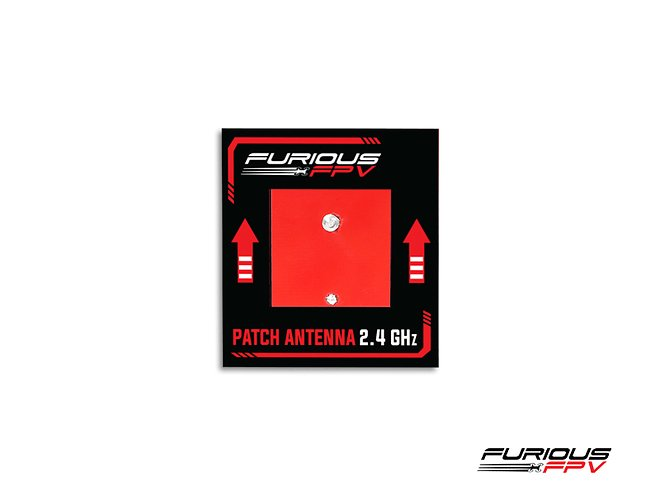 Furious FPV Antenne Patch 2.4 GHz SMA