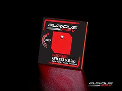 Furious FPV Antenne Feather Patch Race 5.8GHz RHCP SMA