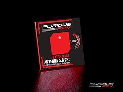 Furious FPV Antenne Feather Patch Race 5.8GHz LHCP SMA