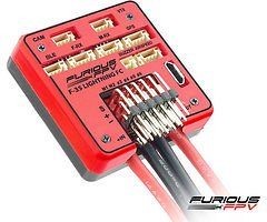 Furious FPV F-35 Lightning Flight controller + OSD + Current Sensor