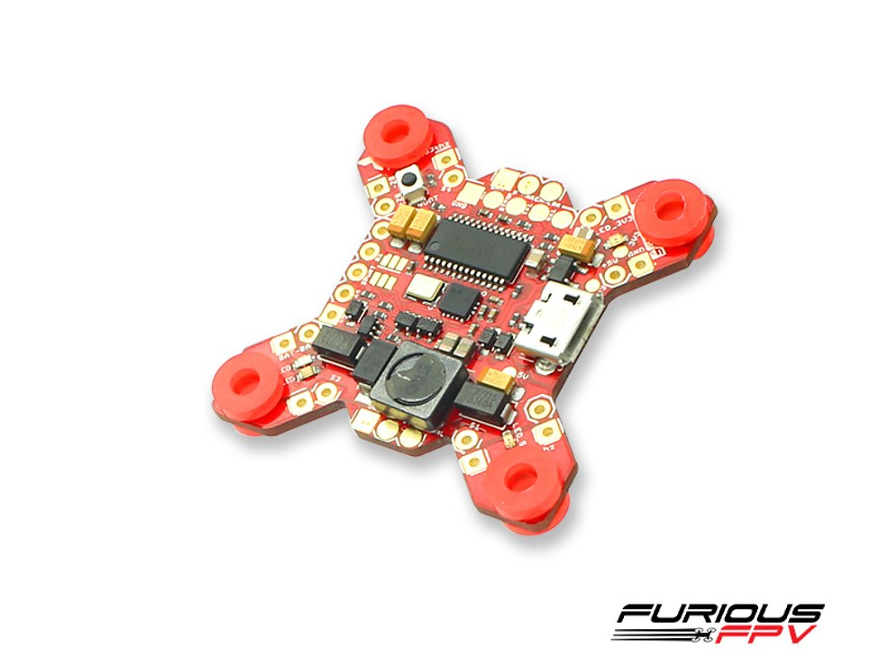 Furious FPV FORTINI F4 32Khz Flight Controller mit OSD REV 2 - Pic 2