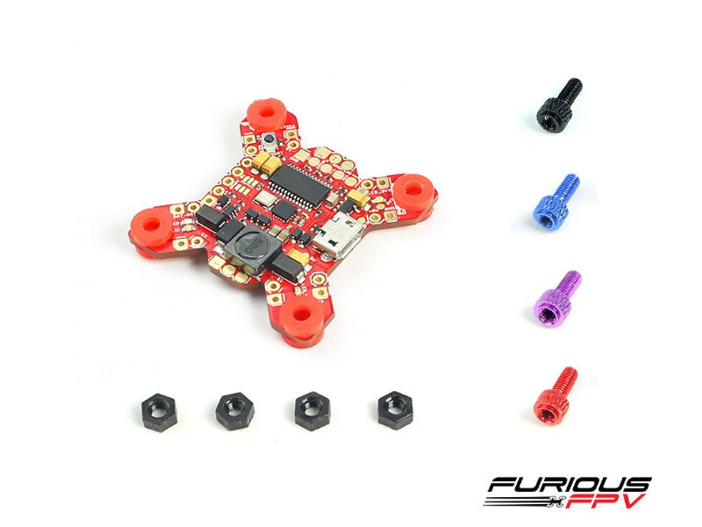 Furious FPV FORTINI F4 32Khz Flight Controller mit OSD REV 2 - Pic 3