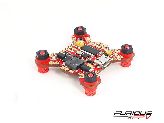 Furious FPV FORTINI F4 32Khz Flight Controller mit OSD REV 2
