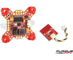 Furious FPV FORTINI F4 32Khz Flight Controller mit OSD und Bluetooth REV 3