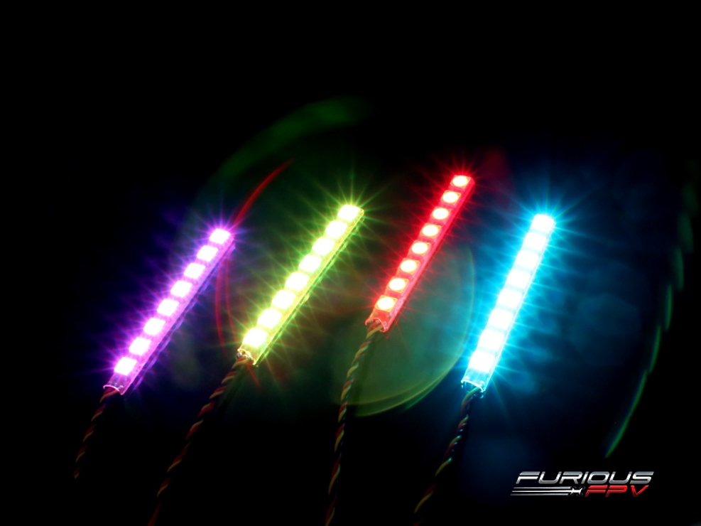 Furious FPV LED Single Row Strip 4 Stück V2 - Pic 2