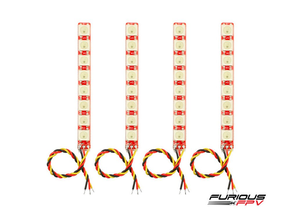 Furious FPV LED Single Row Strip 4 Stück V2 - Pic 1