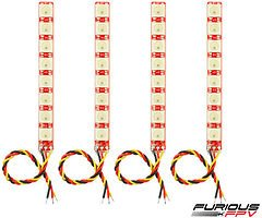 Furious FPV LED Single Row Strip 4 Stück V2