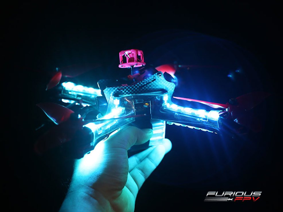 Furious FPV Lightning PDB mit LED Steuerung und 4er LED Set - Pic 4