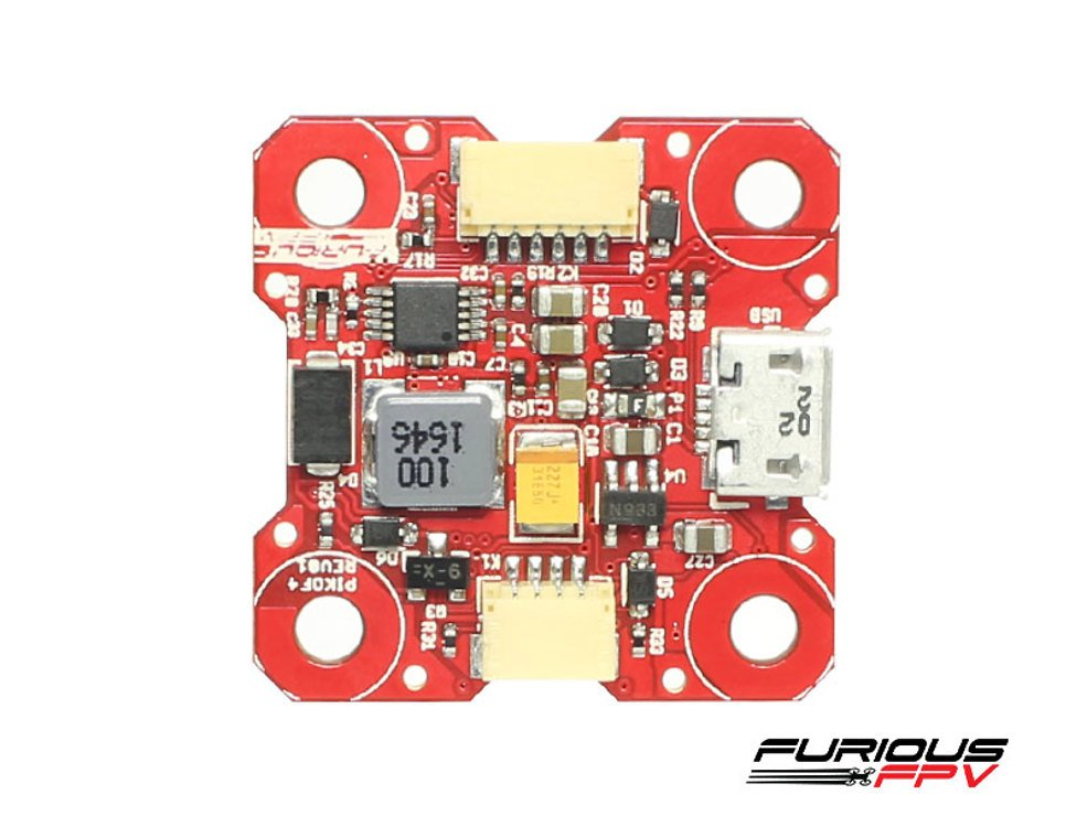 Furious FPV PIKO F4 16MB Black Box Flight Controller - Pic 4