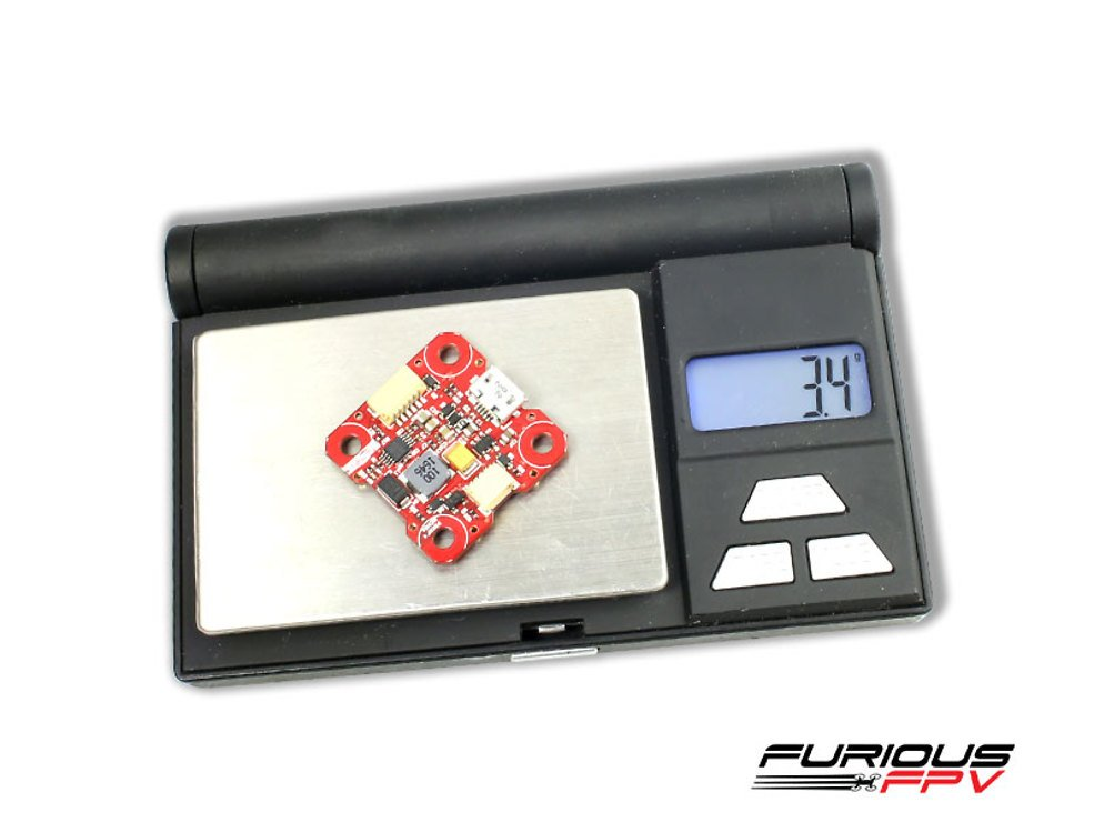 Furious FPV PIKO F4 16MB Black Box Flight Controller - Pic 2