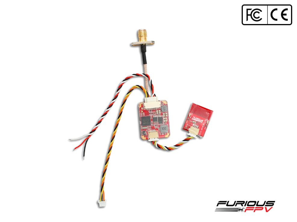 Furious FPV Stealth Race VTX  Race V3 Video Sender und Bluetooth Modul - Pic 1