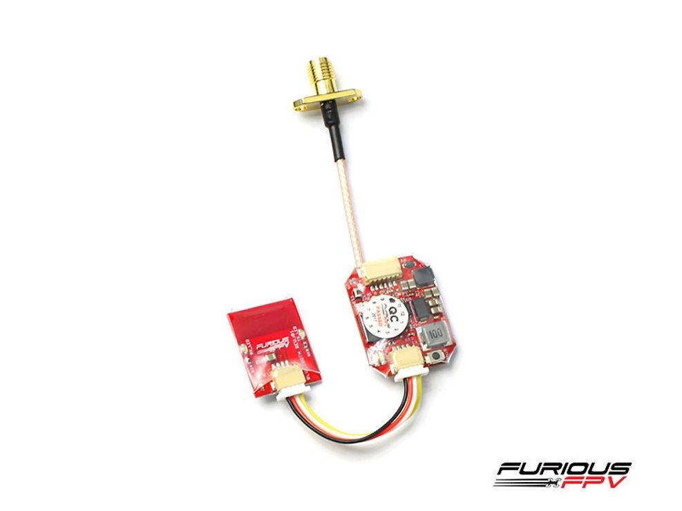 Furious FPV Stealth Race 5.8 GHz VTX FPV Video Sender + Bluetooth Modul - Pic 1