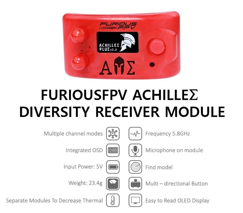 Furious FPV Achilles Diversity Modul für Fatshark Videobrillen - Pic 4