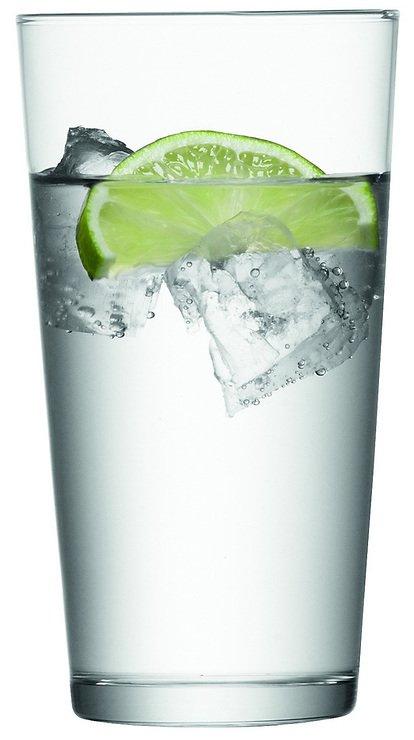 LSA Wasserglas Gio Tumbler klar 320ml - Pic 1