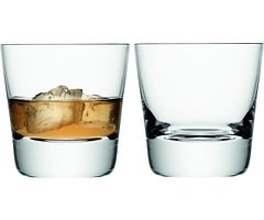 LSA Whiskyglas Madrid 2er Set klar 270ml