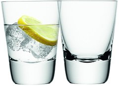 LSA Whiskyglas Madrid 2er Set klar 300ml