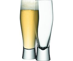 LSA Bierglas Bar 2er Set klar 550ml