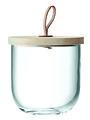 LSA Glasbehälter mit Deckel Ivalo 15cm - Thumbnail 1