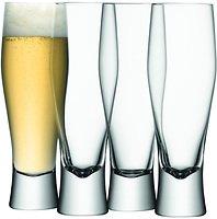 LSA Bierglas Bar 4er Set klar 400ml