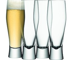 LSA Bierglas Bar 4er Set klar 400ml
