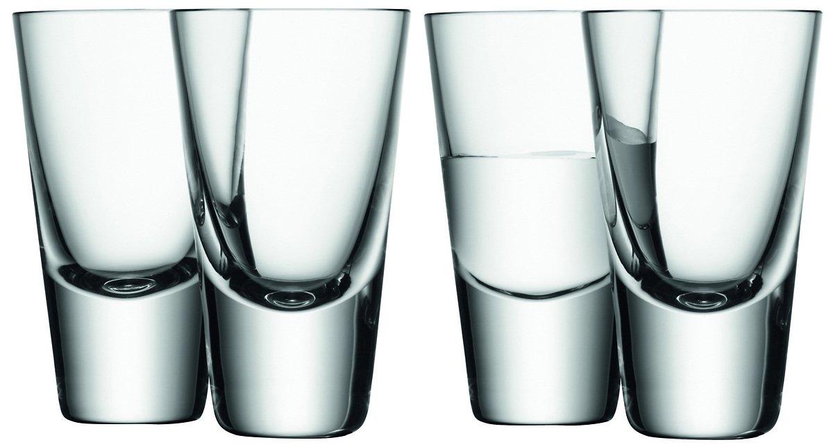 LSA Wodkaglas Bar 4er Set klar 100ml - Pic 1