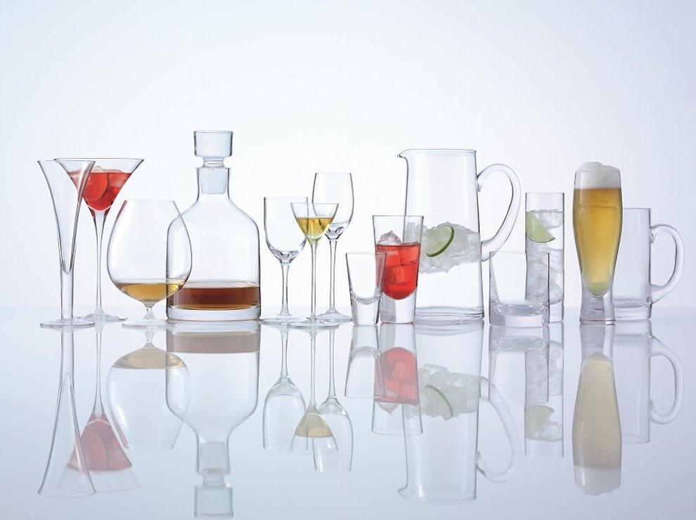 LSA Wodkaglas Bar 4er Set klar 100ml - Pic 5