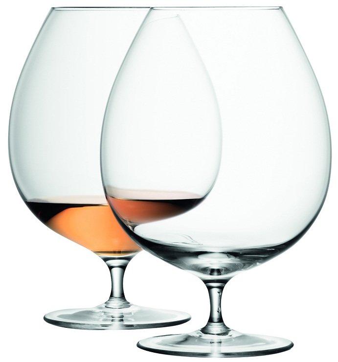 LSA Cognacschwenker Bar 2er Set klar 900ml - Pic 1
