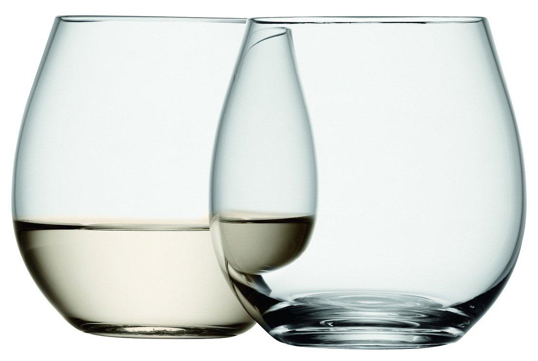 LSA Weinglas Wine ohne Stiel 370ml klar 4er Set - Pic 2