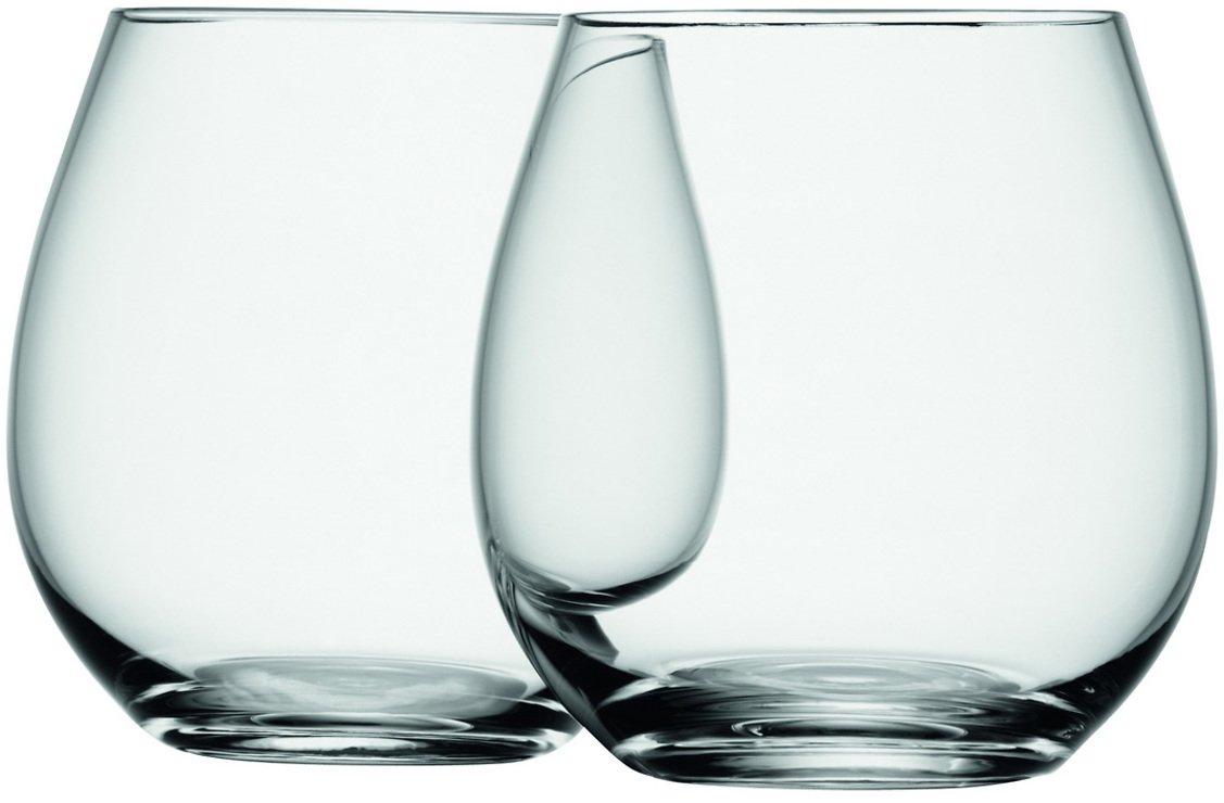 LSA Weinglas Wine ohne Stiel 370ml klar 4er Set - Pic 3