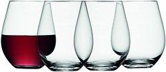 LSA Weinglas Wine ohne Stiel 530ml klar 4er Set