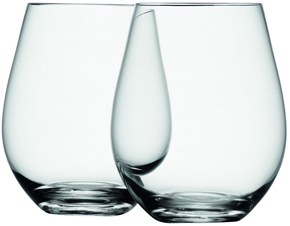 LSA Weinglas Wine ohne Stiel 530ml klar 4er Set - Pic 3