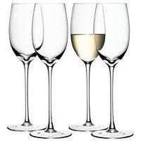LSA Weißweinglas Wine 340ml klar 4er Set