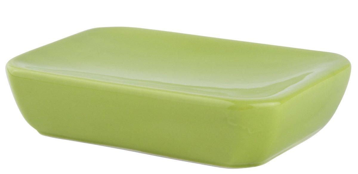 Galzone Seifenschale Keramik rechteckig grün - Pic 1