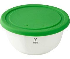 Galzone Vorratsdose aus Porzellan mit Silikondeckel grün 15,5cm