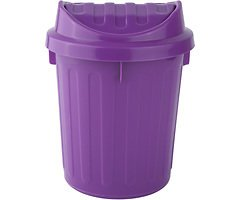 Galzone Tischeimer Kunststoff lila