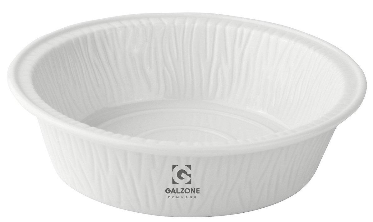 Galzone Servierschale rund 17,5 cm Porzellan weiß - Pic 1