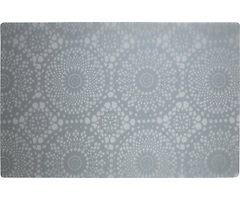 Galzone Tischset Muster weiß/transparent 28,5 x 44cm