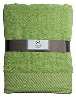 Galzone Handtuch Baumwolle 70x140cm 400g grün