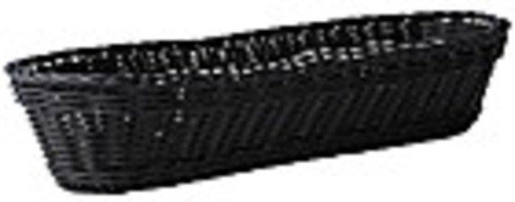 galzone korb geflochten kunststoff schwarz 37cm kaufen. Black Bedroom Furniture Sets. Home Design Ideas