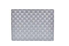 Galzone Tischset geflochten grau 30 x 40cm - AKTION