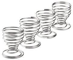 Galzone Eierbecher Set mit 4 Stück chrom