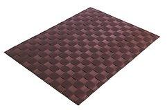 Galzone Tischset geflochten bordeaux 30 x 40cm