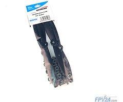 Gemfan 6040 6X4 GFN Glass-Fiber-Nylon Bullnose Propeller -Schwarz (2xCW, 2xCCW)