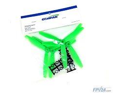 Gemfan 6040 6x4 ABS 3-Blatt-Propeller - Grün (2xCW, 2xCCW)