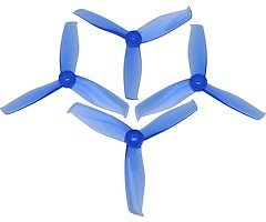 Gemfan Hulkie 5055-3 5x5,5 3Blatt Propeller blau 4 Stück