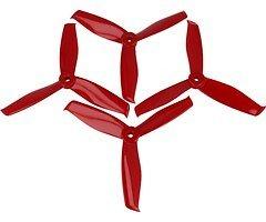 Gemfan Hulkie 5055-3 5x5,5 3Blatt Propeller rot 4 Stück