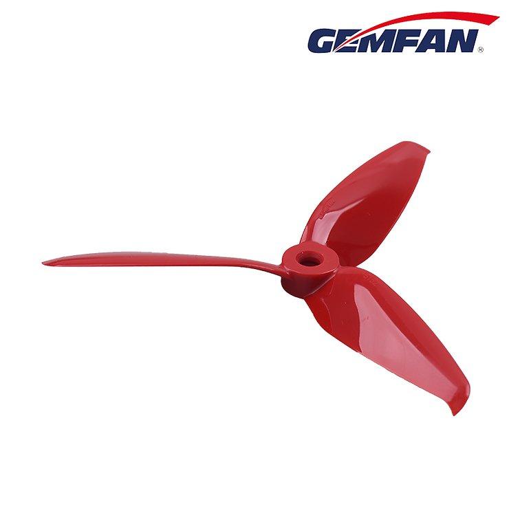Gemfan 5152 5,1x5,2 Flash 3-Blatt-Propeller - Rot (2xCW, 2xCCW) - Pic 2