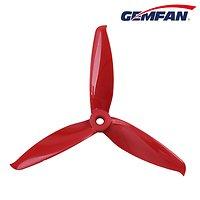 Gemfan 5152 5,1x5,2 Flash 3-Blatt-Propeller - Rot (2xCW, 2xCCW)