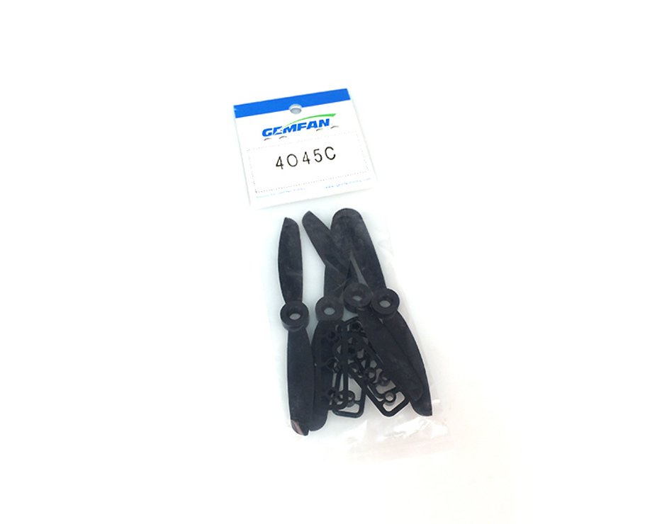 Gemfan 4045 4x4.5 Nylon-Carbon Propeller (2xCW, 2xCCW) - Pic 1
