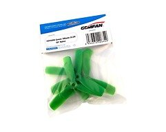 Gemfan 4045 4x4,5 Glasfaser Nylon 3-Blatt-Propeller Bullnose - Grün (2xCW, 2xCCW)